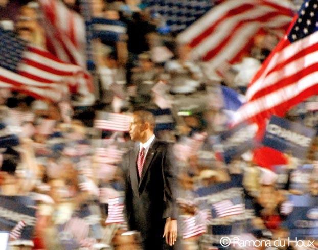 Obama in Motion, by Ramona du Houx