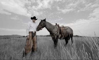 Robert and Fannie Mitchell. Tribal affiliation: Dine Photograph: Matika Wilbur
